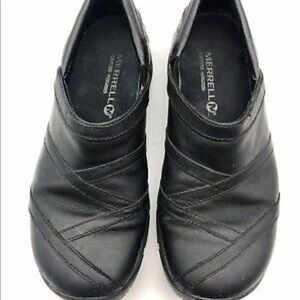 Encore eclipse leather slip on shoes